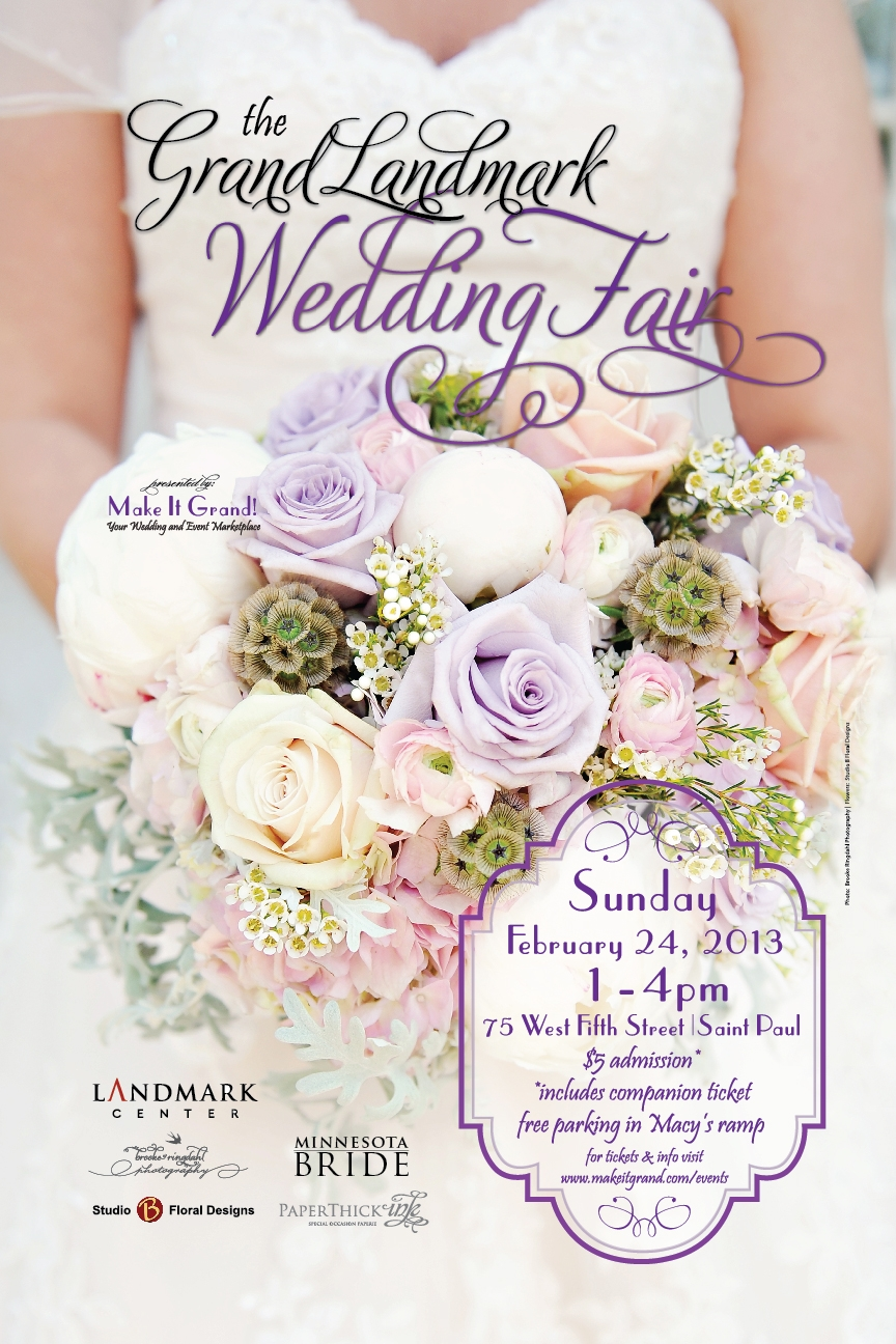 The Grand Landmark Wedding Fair | Make It Grand!